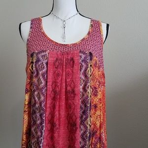Anthro Weston Wear Olvera Swing Tank Sz Large